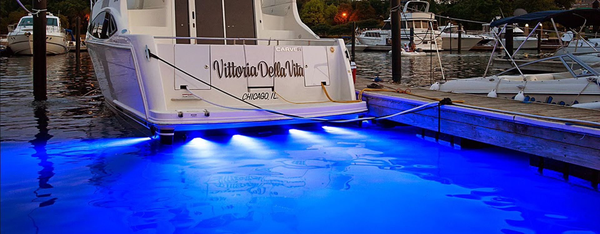 Underwater LED Light - Boat Lighting